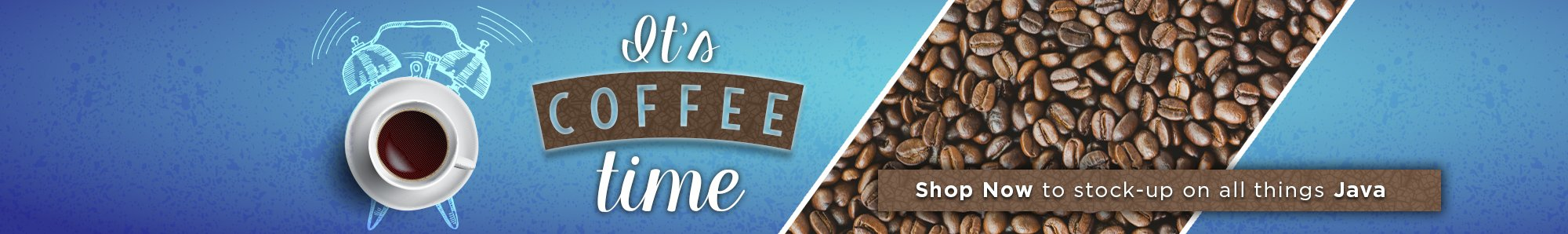 It's coffee time! Shop now to stock up on all things java at OfficeZilla.com!