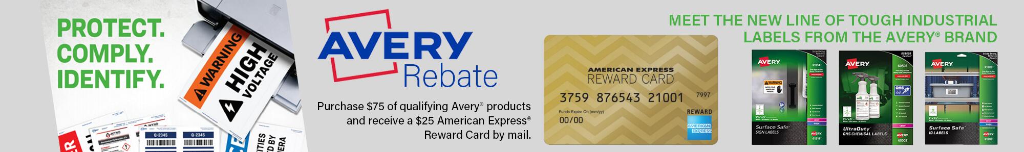 Avery Rebate