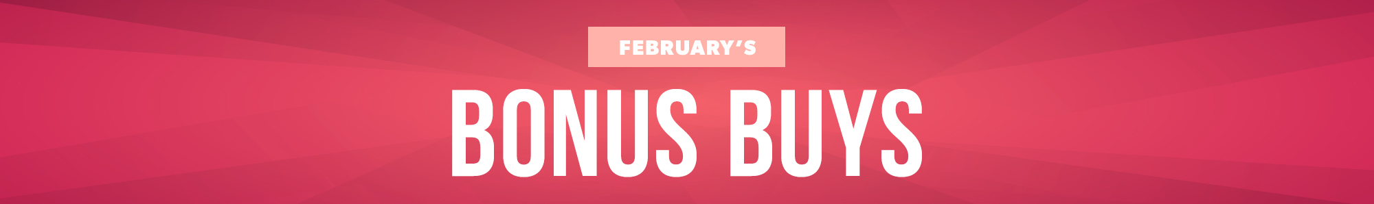 February Deals