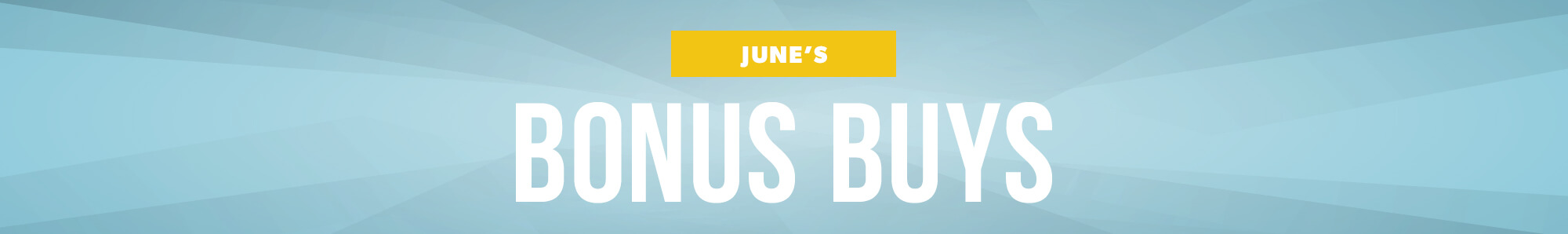 June Deals