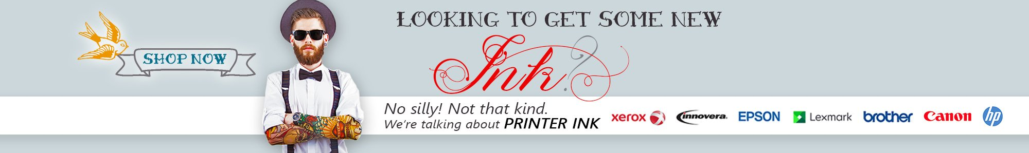 Looking to get some new ink? OfficeZilla's got tons of printer ink at www.OfficeZilla.com!