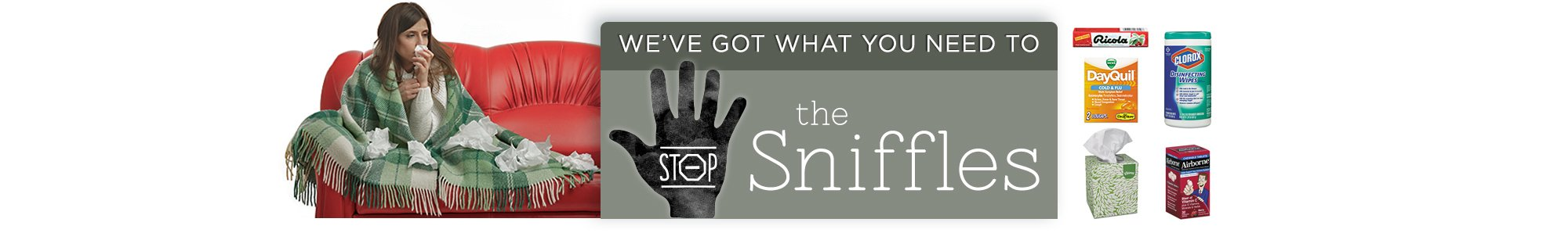 Stop the sniffles